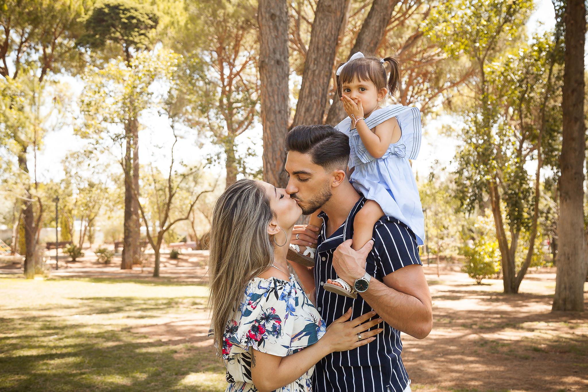 Sessão Fotográfica em Família no Parque de Loulé - Algarve