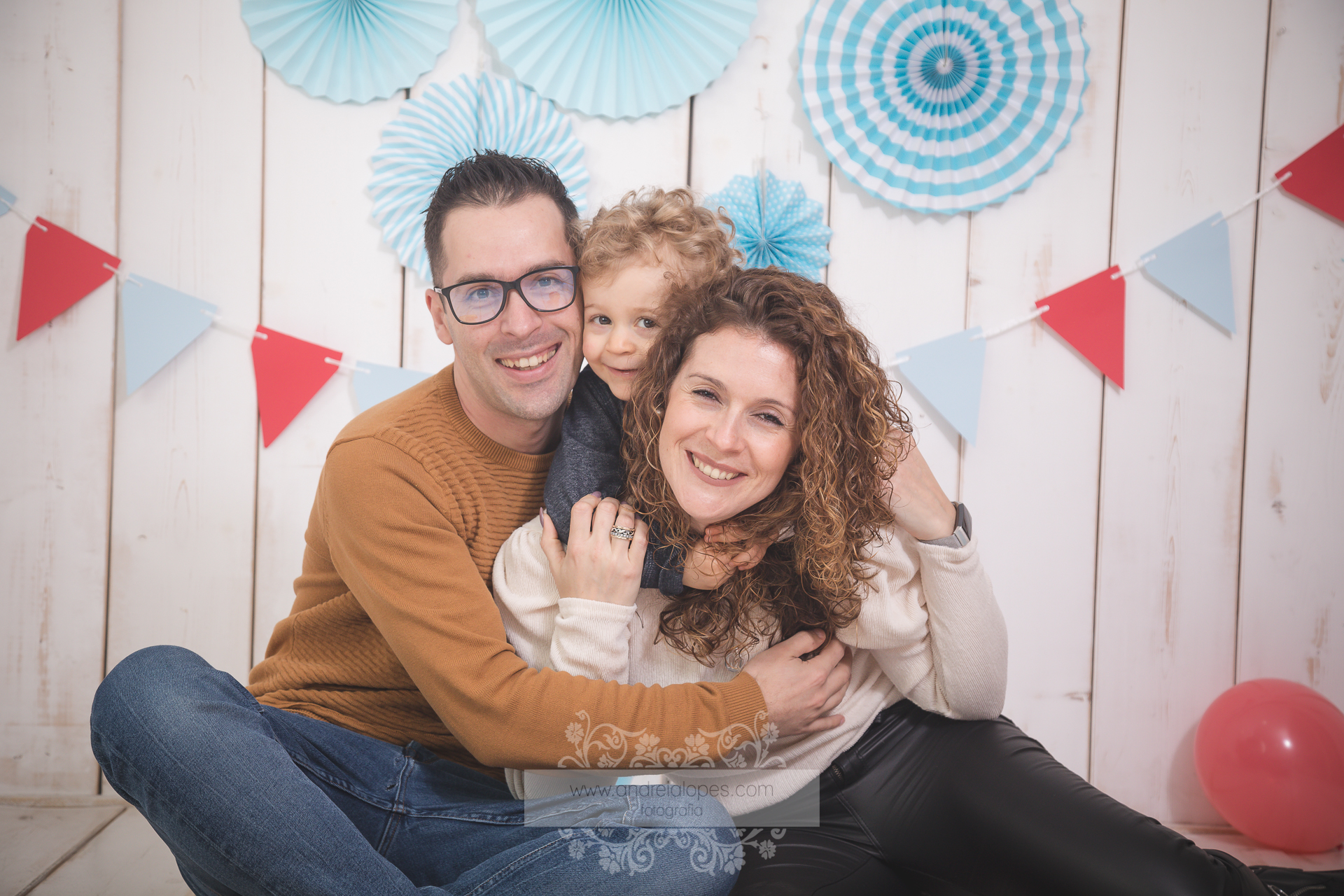 Sessão Fotográfica de família em estúdio - Loulé /Algarve